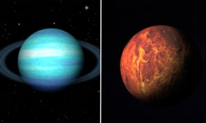 Mars and Uranus will be getting together in February.