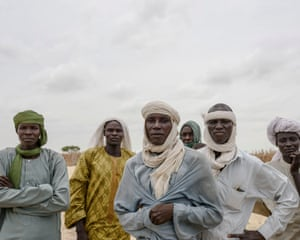 These men were forced from their home on one of the islands on Lake Chad by Boko Haram.