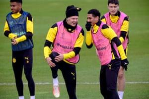 Borussia Dortmund training