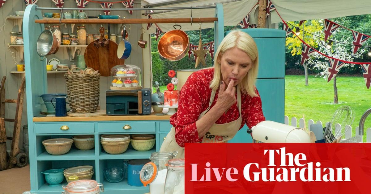 The Great Celebrity Bake Off 2021: episode five – live