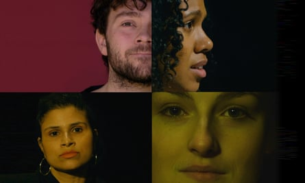 Stills from the six films comprising Bunker theatre's online series Where Do We Go Next?