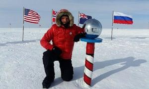 British polar explorer Ben Saunders.