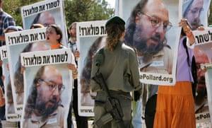 jonathan pollard israel protest