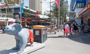 Developing beyond being famous for fun … Cavill Avenue in Surfers Paradise, Gold Coast.