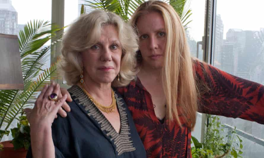 Molly Jong-Fast seen with her mother, the author Erica Jong, at home in New York City.