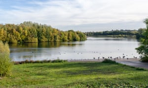 Forge Mill Lake local nature reserve in Sandwell