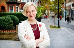 Stella Creasy, in her Walthamstow constituency . Photo by Linda Nylind.