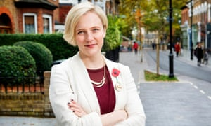 Walthamstow MP Stella Creasy … a man was jailed in 2014 for bombarding her with rape threats.