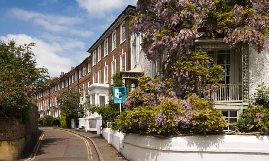 A house for sale in Twickenham, south-west London.