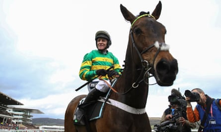 Barry Geraghty rode Epatante to victory in the Champion Hurdle on day one of the Cheltenham Festival in March, one of five wins at the meeting.