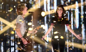 Keith Urban and Amy Shark