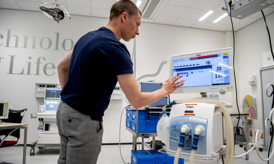 Monitors and respiratory equipment tested