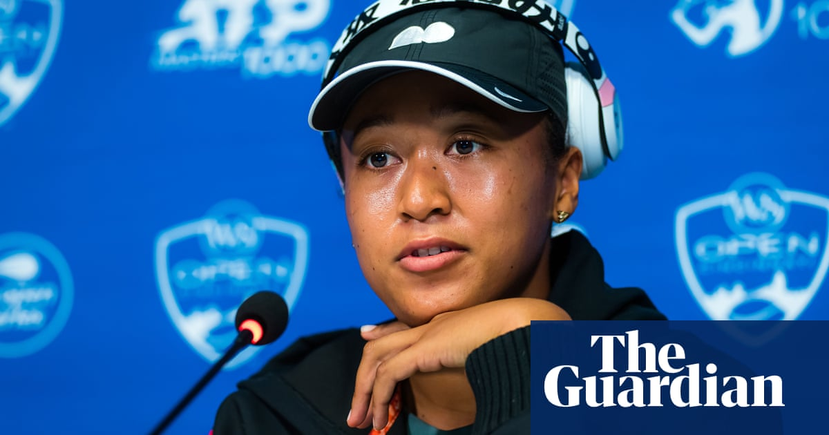 Naomi Osaka in tears during first press conference since French Open
