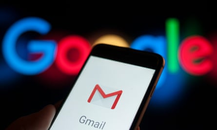 Gmail app on a smartphone.