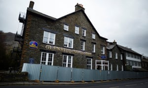 The Glenridding Hotel was closed for a year.