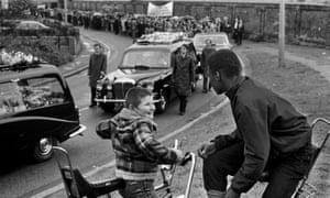 Blair Peach's funeral procession