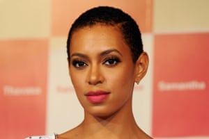 Solange Knowles when she had short hair