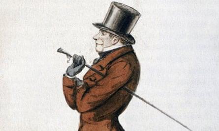 A drawing of Soren Kierkegaard c1845, by Peter Klaestrup.