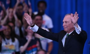 Mike Bloomberg: $500m and out.