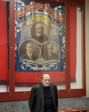 Arthur Hudspeth, 91, a former miner, at the The Fishburn Social Club.