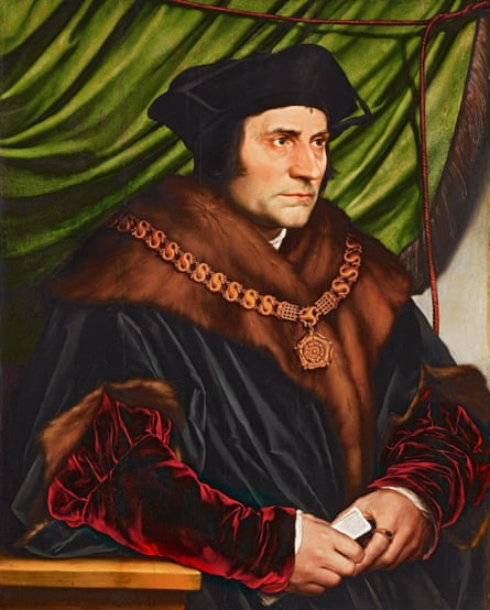 Hans Holbein the Younger's portrait of Sir Thomas More (1527)