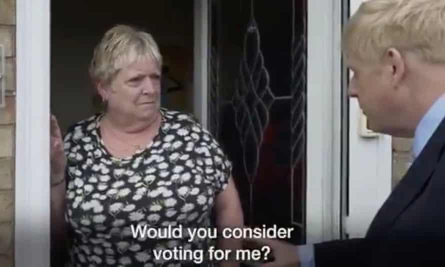 Johnson campaign video