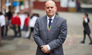 Andrew Moffat, assistant headteacher at Parkfield Community primary school.