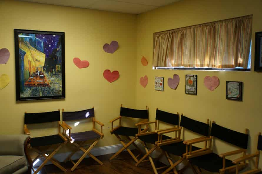 A room at Kelly Flynn's abortion clinic