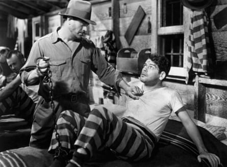 Paul Muni as James Allen in in I am a Fugitive From a Chain Gang.