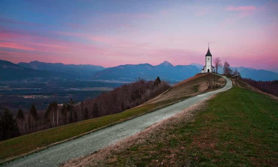 A quintessentially Slovenian view, near Jamnik.
