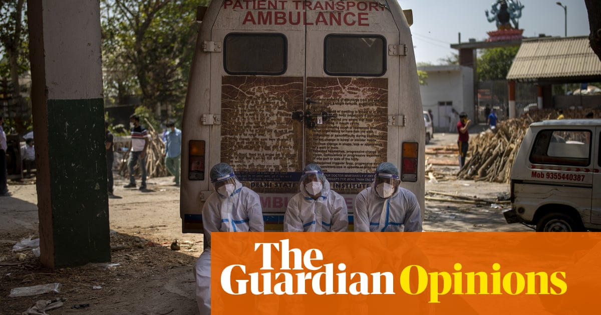 Vaccine hoarding is all the more disturbing as a Covid disaster unfolds in India