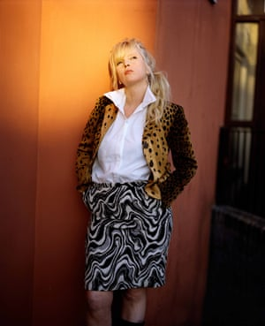 Donna, Age 40, Occupation Unknown, The Labour Club Jacket by Moschino and skirt by Dries Van Noten from Nothing Special