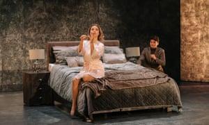 Olivia Boen and Tom Mole in Susanna's Secret, part of Guildhall School's Opera Triple Bill.