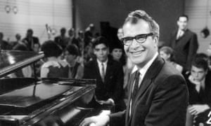 American jazz musician Dave Brubeck performs on the pilot episode of television show, Dial M for Music,' July  1965.