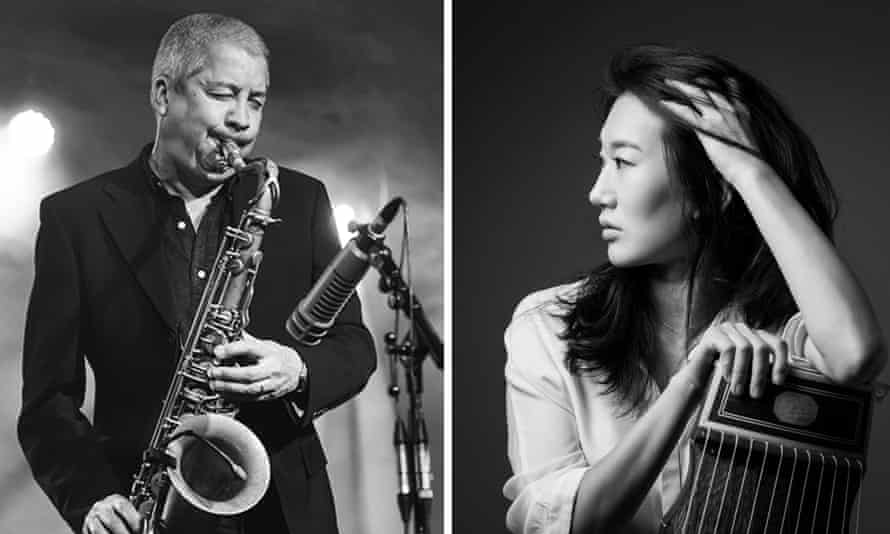 Swooping runs and cryptic melodies … Andy Sheppard and Kyungso Park