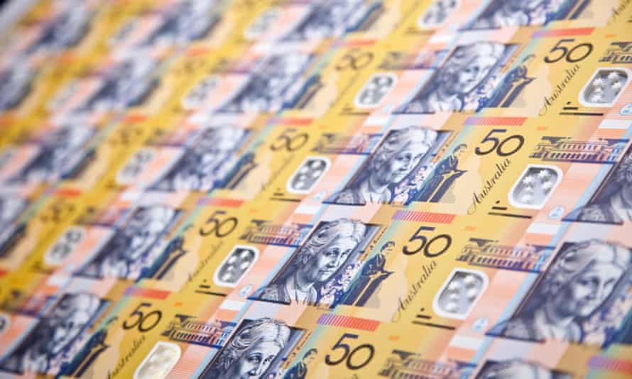 Stock image of $50 notes