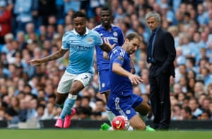 Sterling leaves Ivanovic for dust.