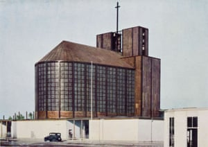 Stahlkirche in the grounds of the International Press Exhibition (Pressa), Cologne, 1928