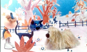 A scene from Dougal and The Blue Cat