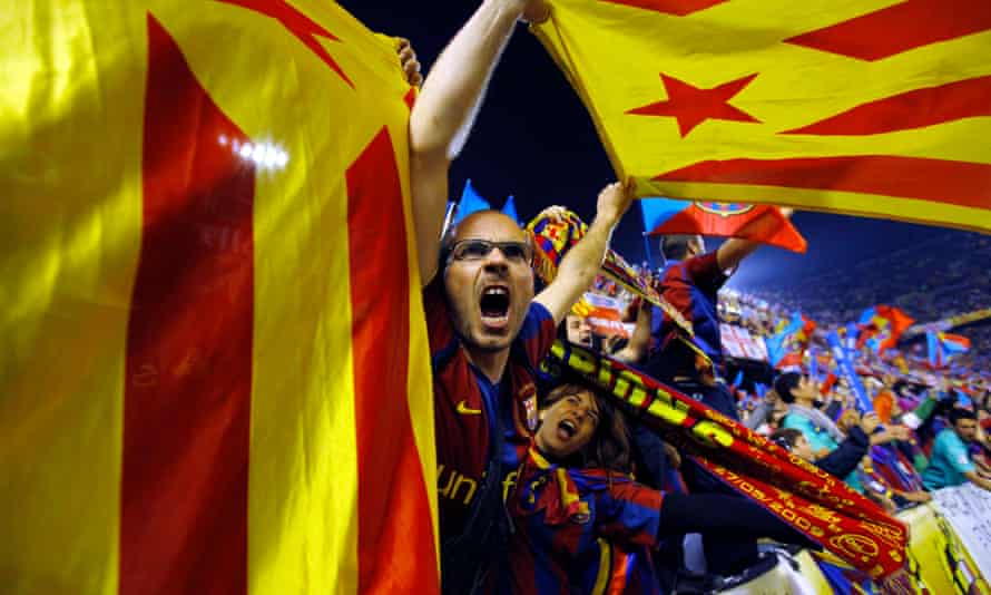 Barcelona fans can wave Catalan flags at cup final in ...