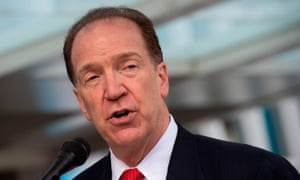 World Bank president David Malpass