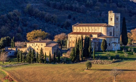 Sant'Antimo abbey, Italy