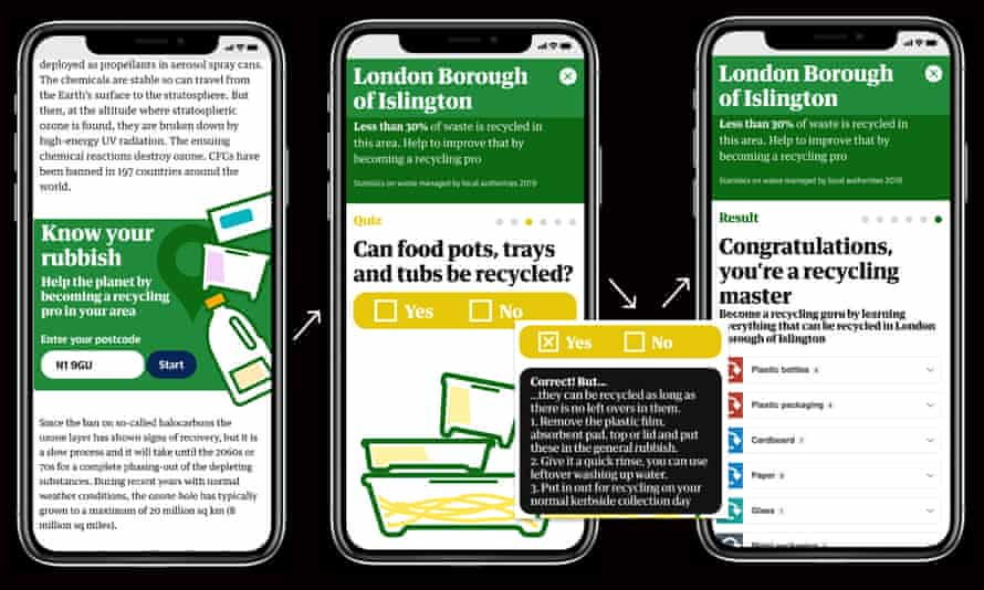 Know Your Rubbish app screenshot