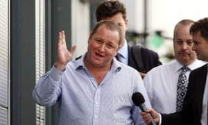 Mike Ashley, executive deputy chairman of Sports Direct.