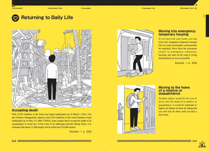 'Returning to daily life' from the Tokyo Disaster Preparedness Manual