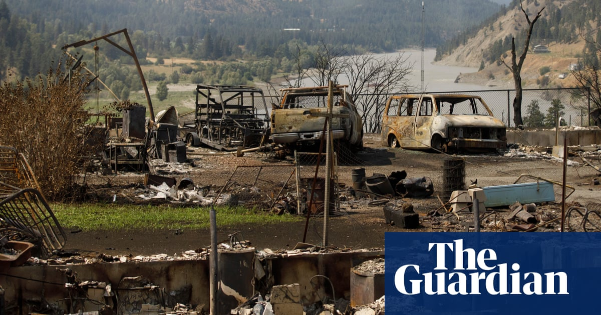 'There's nothing left in Lytton': the Canadian village destroyed by wildfire – picture essay