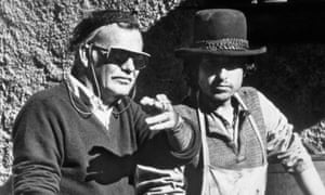 Peckinpah and Bob Dylan on the set of Pat Garrett and Billy the Kid