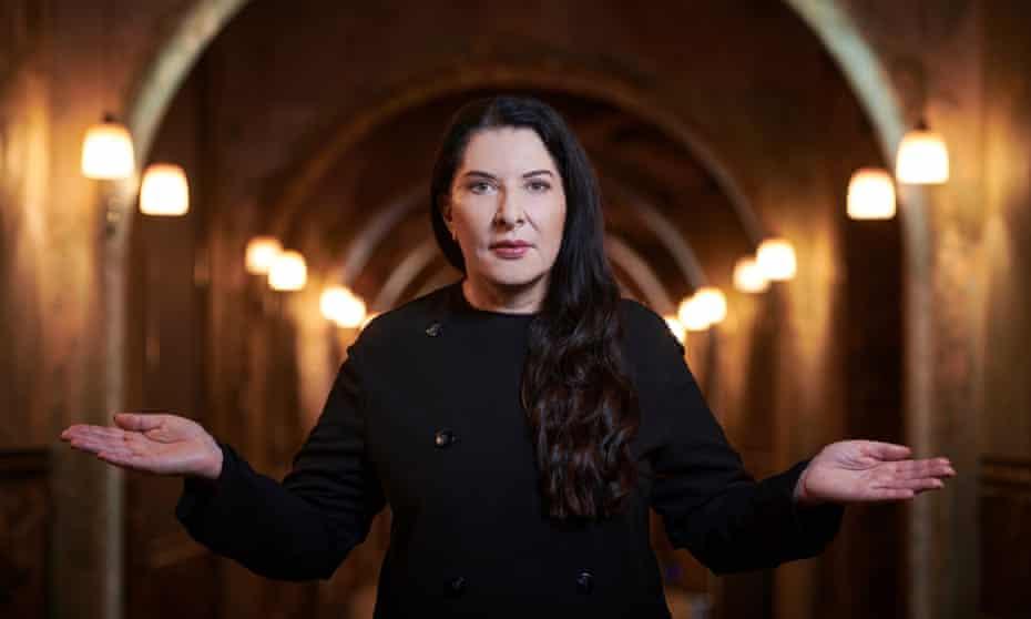 Unique vision … Marina Abramović.