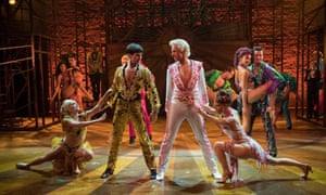 Sublime dancing … Strictly Ballroom: The Musical.