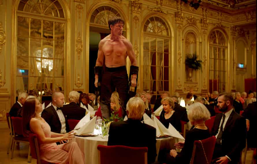 The Square, winner of the 2017 Palme d'Or, streaming now on Curzon Home Cinema.